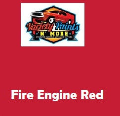 D12982 WA Fire Engine Red Custom Mixed Spray Paint