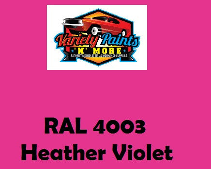 RAL 4003 Heather Violet Custom Mixed Spray Paint