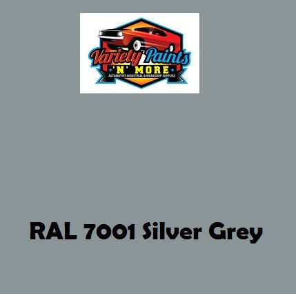 RAL 7001 Silver Grey Custom Mixed Spray Paint