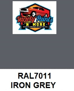 RAL 7011 Iron grey Custom Mixed Spray Paint 300 Gram