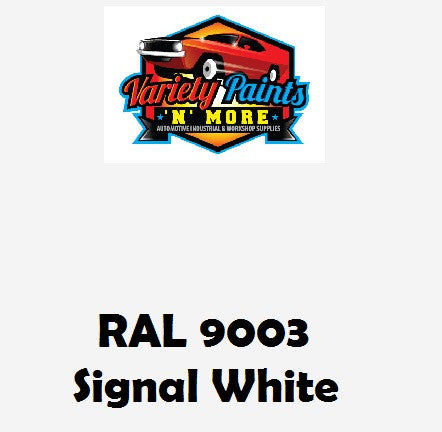 RAL 9003 Signal white Custom Mixed Spray Paint