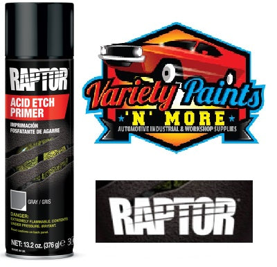 Raptor Acid Etch Primer 450ml Aerosol (NEW Line)
