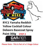 RYC1 Yamaha Reddish Yellow Cocktail Colour Debeers Basecoat Spray Paint 300g