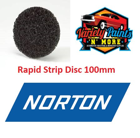 Norton Rapid Strip Discs R4101 100mm