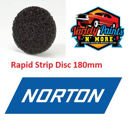 Norton Rapid Strip Discs R4101 180mm
