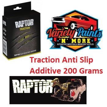 Raptor Traction Anti Slip Black Additive 200 Grams