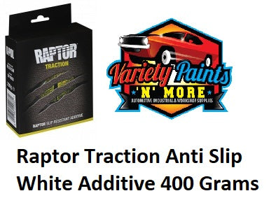 Raptor Traction Anti Slip White Additive 400 Grams
