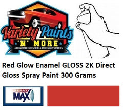 Red Glow Enamel GLOSS 2K Direct Gloss Spray Paint 300 Grams