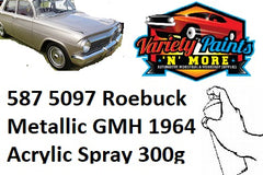 587 5097 Roebuck Metallic GMH 1964  Acrylic Touch Up Paint 300 Grams