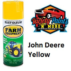 RustOleum John Deere Yellow Enamel Spray Paint