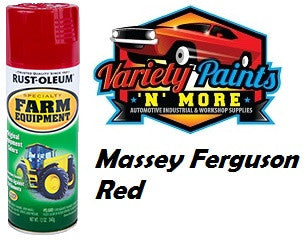 RustOleum Massey Ferguson Red Enamel Spray Paint 340 Grams