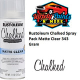 Rustoleum Chalked Spray Pack Matte Clear 343 Gram