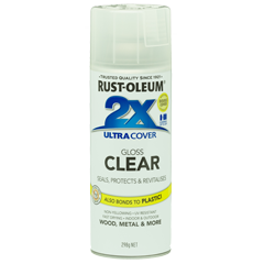 RustOleum 2X Gloss Clear Ultracover Spray Paint