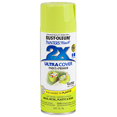 RustOleum 2X Gloss Key Lime Ultracover Spray Paint