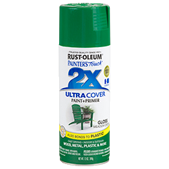 RustOleum 2X Gloss Meadow Green Ultracover Spray Paint