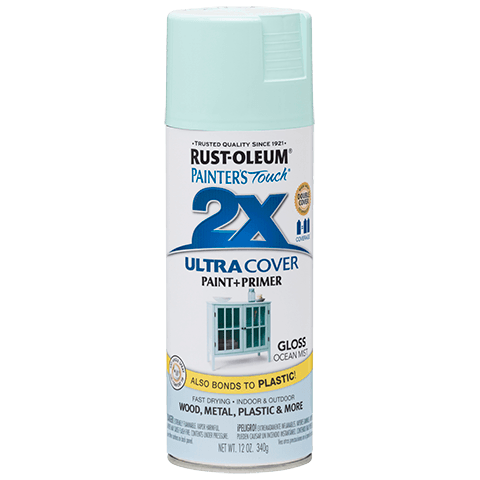 RustOleum 2X Gloss Ocean Mist Ultracover Spray Paint