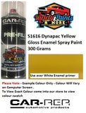 S1616DY Dynapac Yellow Enamel Spray Paint 300 Grams