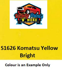 S1642 Komatsu Natural Yellow Acrylic Touch Up Paint 300 Grams