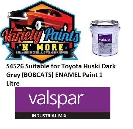 S4526 Suitable for Toyota Huski Dark Grey (BOBCATS) ENAMEL Paint 1 Litre