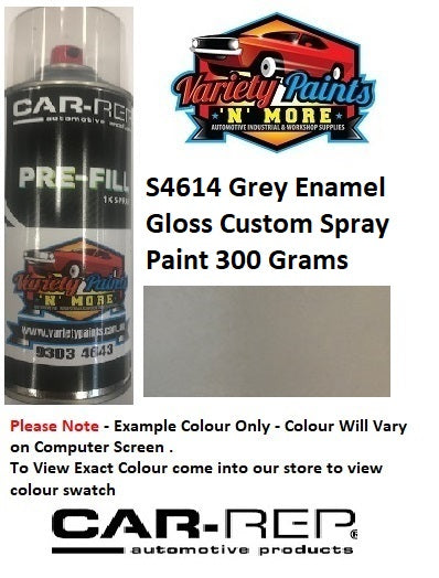 S4614 Grey Enamel Gloss Custom Spray Paint 300 Grams