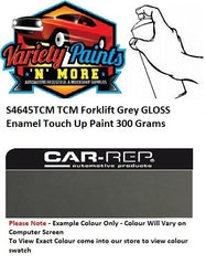 S4645 TCM Forklift Grey GLOSS Enamel Touch Up Paint 300 Grams