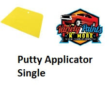 Plastic Body Filler/Putty Applicator SINGLE