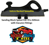 Sanding Block Speed File Velcro Backed 70 x 420mm