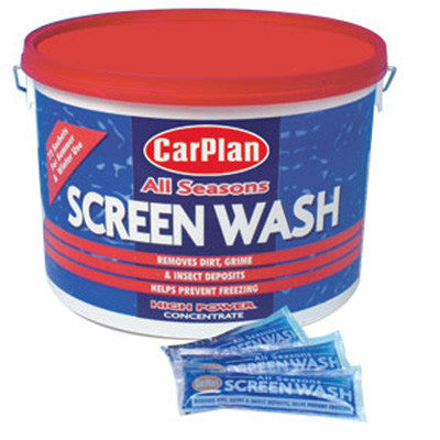 CarPlan Screen Wash Single 1 x Satchet