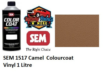 SEM 1517 Camel  Colourcoat Vinyl 1 Litre