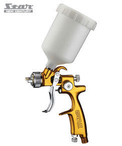 Star New Century Evot Gold Series Mini Gravity Spray Gun 1.2mm Nozzle