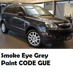 Variety Paints GUE Smoke Eye Grey Metallic GMH Acrylic Touch Up Paint