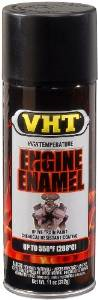 VHT Engine Enamel Flat Black