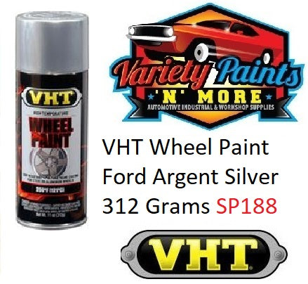 VHT Wheel Paint Ford Argent Silver 312 Grams SP188