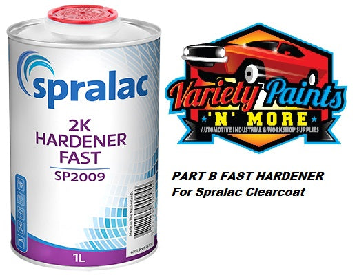 Spralac 2K Hardener Fast 1 Litre SP2009 PART B
