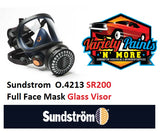 Sundstrom O.4213 SR200 Full Face Mask Glass Visor
