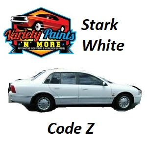 Variety Paints Z Stark White FORD Basecoat Spray Paint 300g