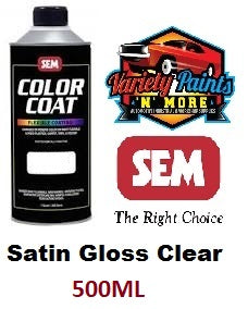 SEM Colorcoat Satin Gloss Clear 500ML