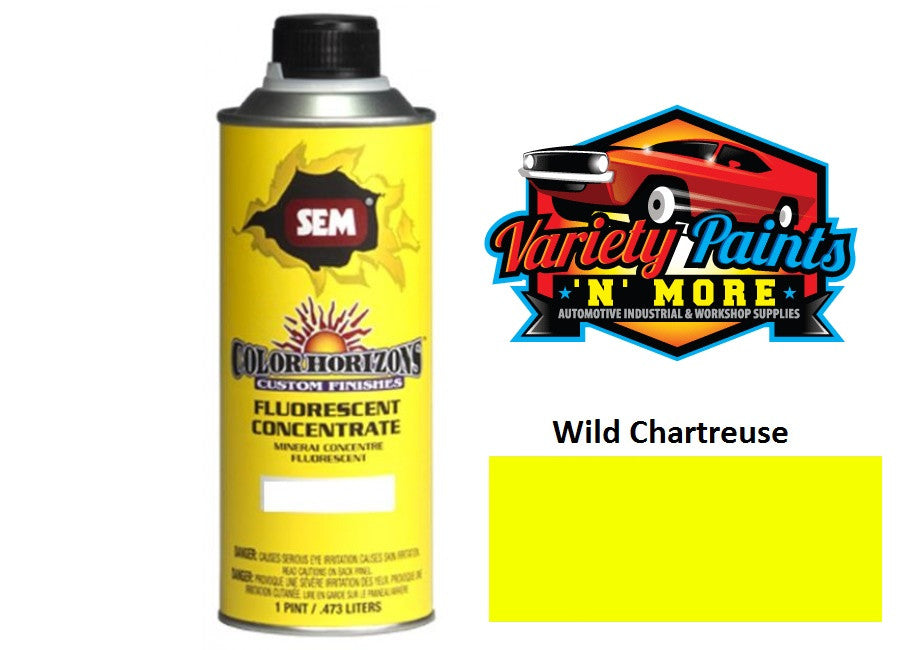 SEM Color Horizons Wild Chartreuse Yellow Fluorescent Concentrate  473ml