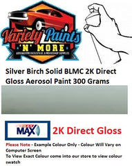 Silver Birch Solid BLMC 2K Direct Gloss Aerosol Paint 300 Grams