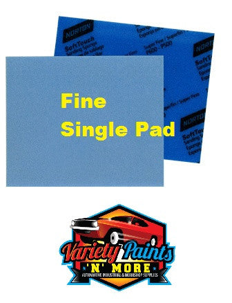 Norton Soft PAD Touch Sanding Sponge Fine 320-400 Single