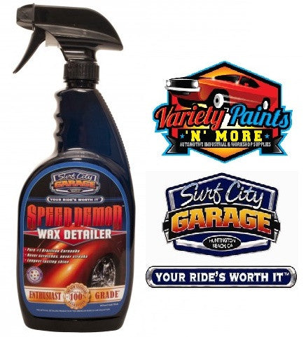Speed Demon  Wax Detailer 24oz 709ml Surf City Garage
