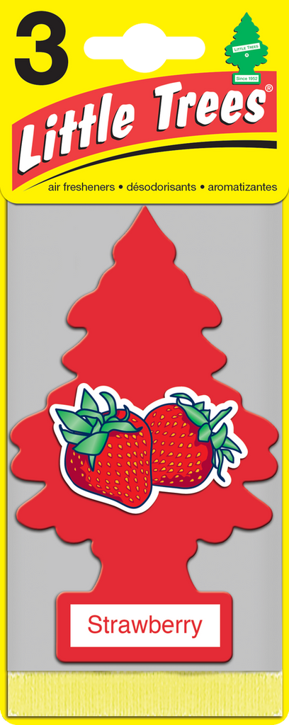 Little Tree 3 Pack Strawberry