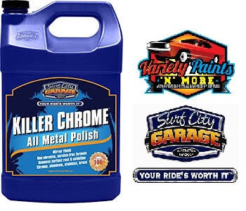 Killer Chrome Perfect Polish 1 Gallon Surf City Garage