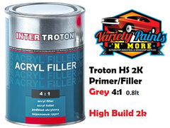 Troton GREY HS 2K High Build Primer/Filler 4:1 0.8lt