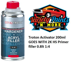 Troton Activator 200ml GOES WITH 2K HS Primer filler 0.8lt