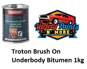 Inter Troton Brush On Underbody Bitumen 1kg