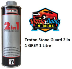 Troton Stone Guard 2 in 1 GREY 1 Litre