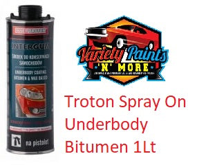 Troton Spray On Underbody Bitumen Shutz 1Lt