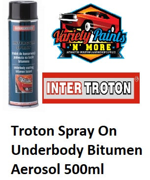 Inter Troton Spray On Underbody Bitumen Aerosol