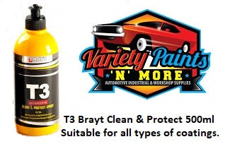 Brayt T3 Clean & Protect Spray 500ml